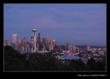 Twilight over Downtown #1, Seattle