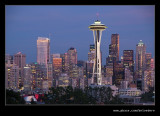 Twilight over Downtown #4, Seattle