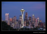 Twilight over Downtown #5, Seattle