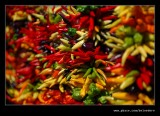 Hanging Peppers, Pike Place Market, Seattle