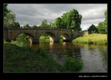 Bridge over River Derwent, Chatsworth