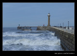 Stormy Sea, Whitby, North Yorkshire