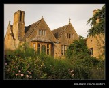 Fading Sun on Hidcote Manor