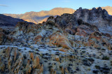 Sunset in the Alabama Hills