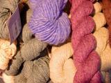 Yarn in the village store