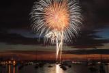 Fireworks over Newport, RI