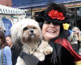 Elvira and friend