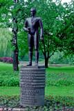 The Statue of Simon Bolivar