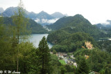 View of the Alpsee and Hohenschwangau