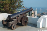 Cannon in Guia Fortress