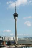 Macau Tower, viewed from Penha Hill DSC_9675
