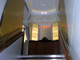 New A380 Airbus Emirates upstairs First Class