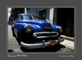 CHEVROLET 1949/1950 La Habana - Cuba
