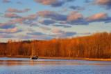 Sailboat At Sunset 47953