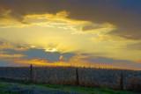 Sunset Beyond The Hill 47984