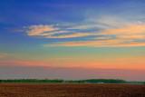 Plowed Field At Sunrise 49027