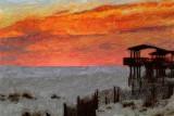 Dauphin Island Sunset 56067 Art