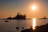 Lake Superior Near Sunset 01185