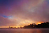 Foggy Sunset 01376