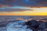 Lake Superior At Sunset 02072