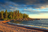 Lake Superior At Sunset 02065