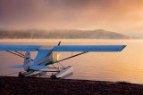 Floatplane In Sunrise 02435