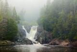 Silver Falls In Fog 03039