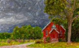Country Church 03970-1 Art