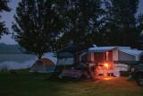 A Campsite In First Light 05451