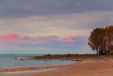 Lake Erie At Sunrise 09370-1