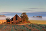 Old Barn At Sunrise 08926