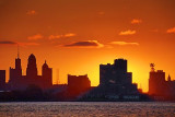 Buffalo Skyline Sunrise 20091019
