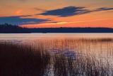 Otter Lake Sunset 17537