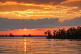 Big Rideau Lake Sunset 18492