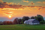 Barn In Sunrise 20100802