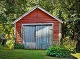 Old Red Garage P1020520-2