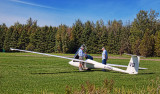 Glider On The Ground 22176