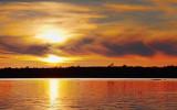 Fireball Sunset 20100917