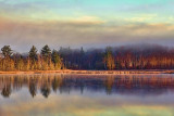 Otter Lake At Sunrise 01449