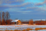 Old Barn At Sunrise 20101208