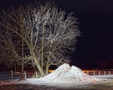 Parking Lot Snow Pile 02777-85