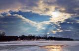 Freezing Bellamy Lake 20101211