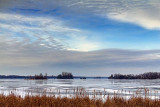 Frozen Big Rideau Lake 04215