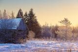 Winterscape At Sunrise 03391-2