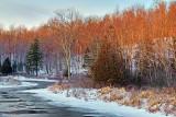 Little Crosby Creek At Sunrise 04773-4