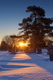 Cemetery Sunrise 05740