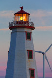 PEI North Cape Lighthouse At Dusk 27932