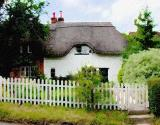 Thatched Cottage Art