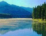 Lake & Pines Art