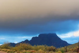 Red Mountain In The Clouds 81159